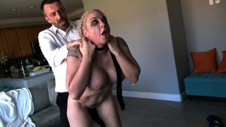 Leya: Slut Daughter Comes With The House