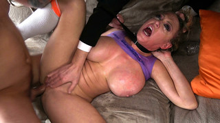 Dee: Daddy's Baby Loses Her Anal Cherry