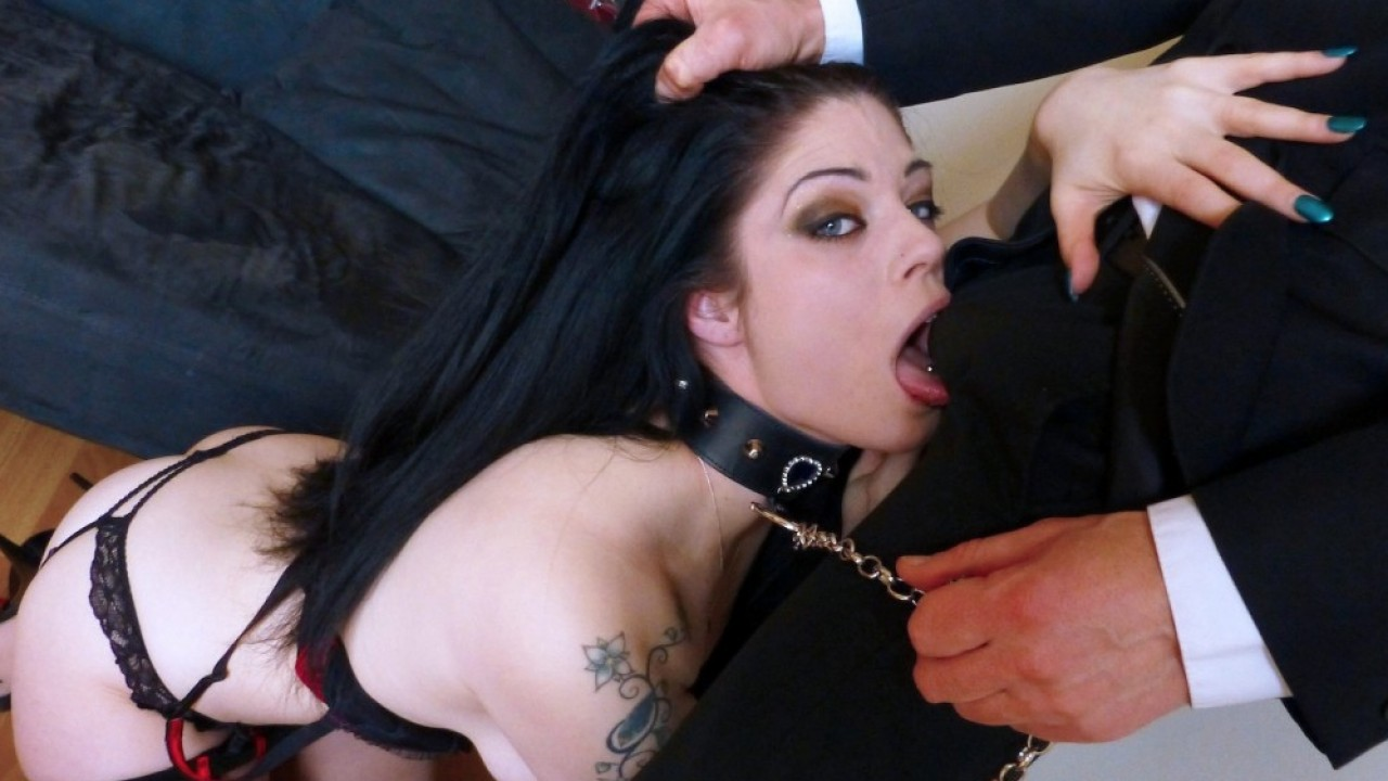 Lucia Love, BDSM Wife Shackled Up