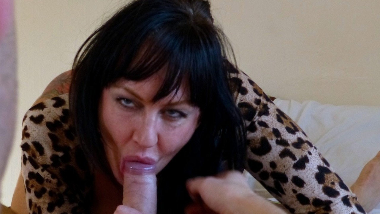 Slut Mom, Jessie Jo, Fucked and Spanked Good!