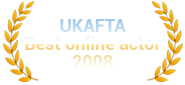 UKAFTA 2008 Best Online Actor