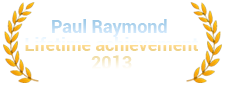 2013 Paul Raymond Lifetime Achievement Award