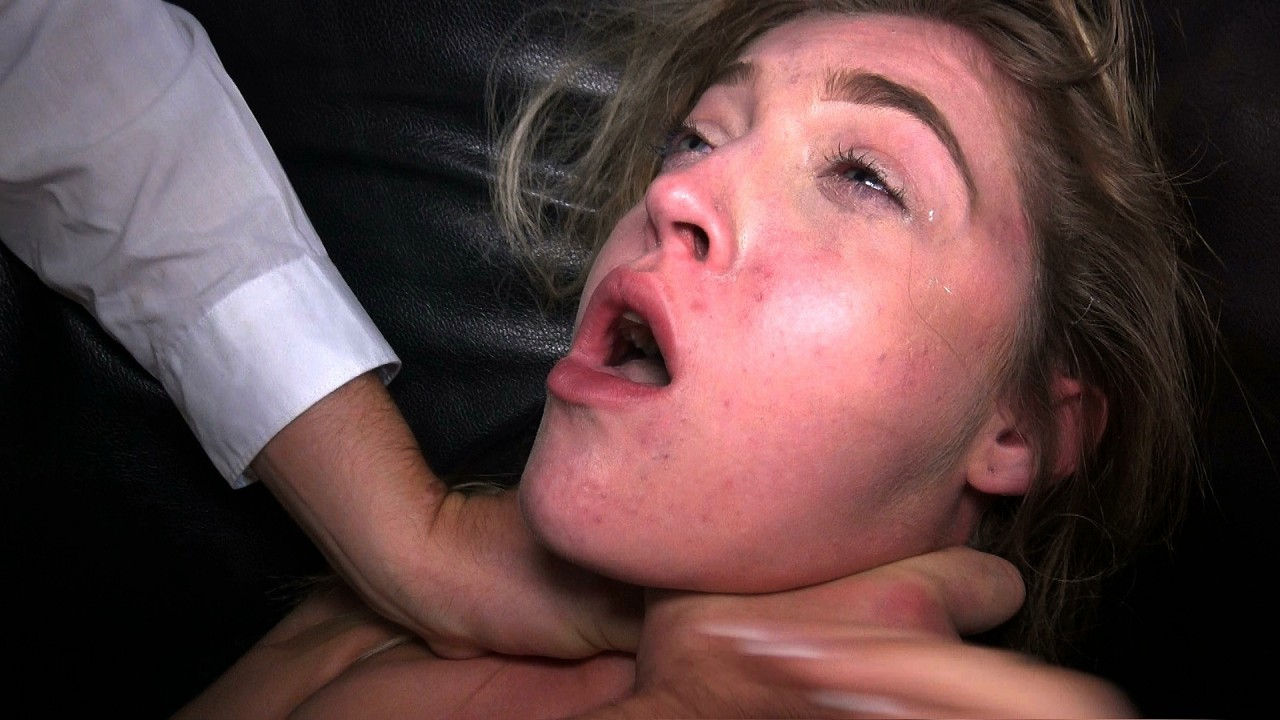 Rhiannon: spanked & ordered to cum