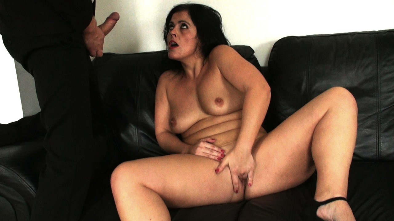 Montse: cock-teased, cums three times